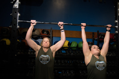 "CrossFit Open Competition ""18.5"" on 3/24/2018 held at CrossFit TT in South Burlington Vermont"