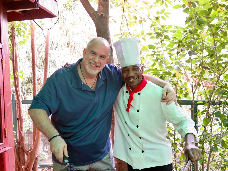 Ben the Chef at Gracia Gardens