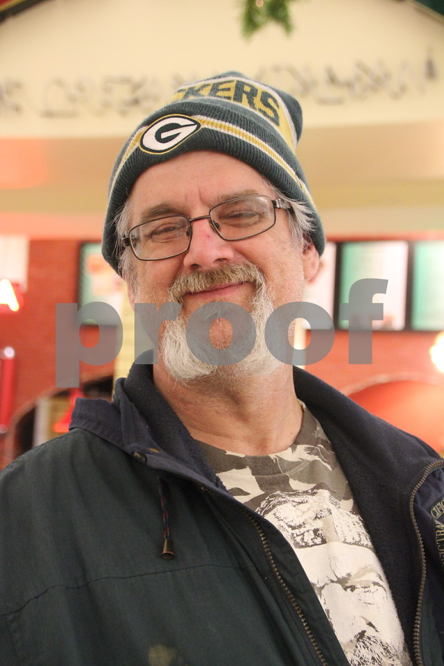 Saturday, December 12, 2015 found shoppers at Crossroads Mall in Fort Dodge shopping for Christmas gifts.  Pictured is: Richard Banks.