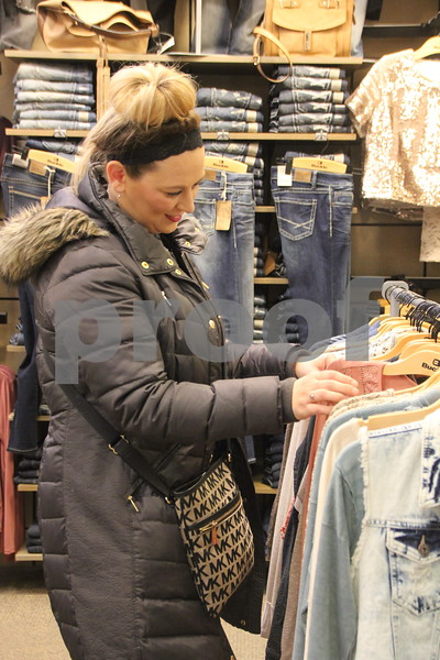 On Monday, December 12, 2016,  found Natalie Weuve at the Crossroads Mall taking in some shopping before Christmas arrives.