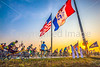 Ragbrai 2014 - Leaving Rock Valley, Iowa, in early morning - D1-C2-0473 - 72 ppi-2