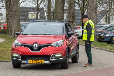 Bart Hoogenboom, trouwe verkeersregelaar