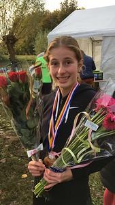 Ilse Goudswaard Zeeuws Cross Kampioen junioren B