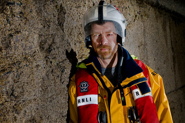 Portrait - RNLI Crew - Ramsey, Isle of Man - Steve Oates www.rnli.org/ramsey