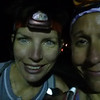 Starting in the dark from Lake Pleasant with headlamps!