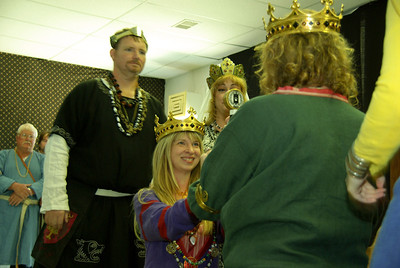 they are crowned to rule great Meridies.