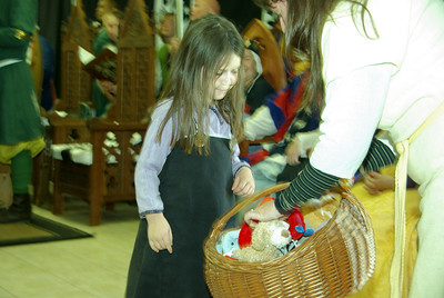 children were given toys