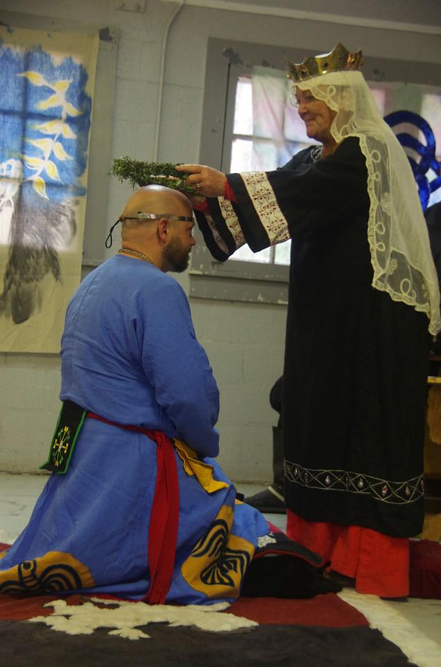 Skallagrim awarded Wreath of Chivalry