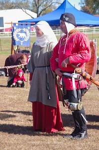 Syr Carson Wynne fighting for Lady Mathilde de Metteneye