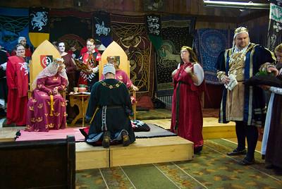 Dredda's Laurel ceremony
