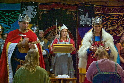 King William & Queen Onora and Earl Loric and Countess Diana
