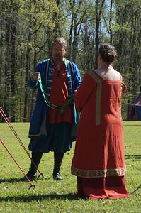 Master Cinaed takes Asa as an apprentice