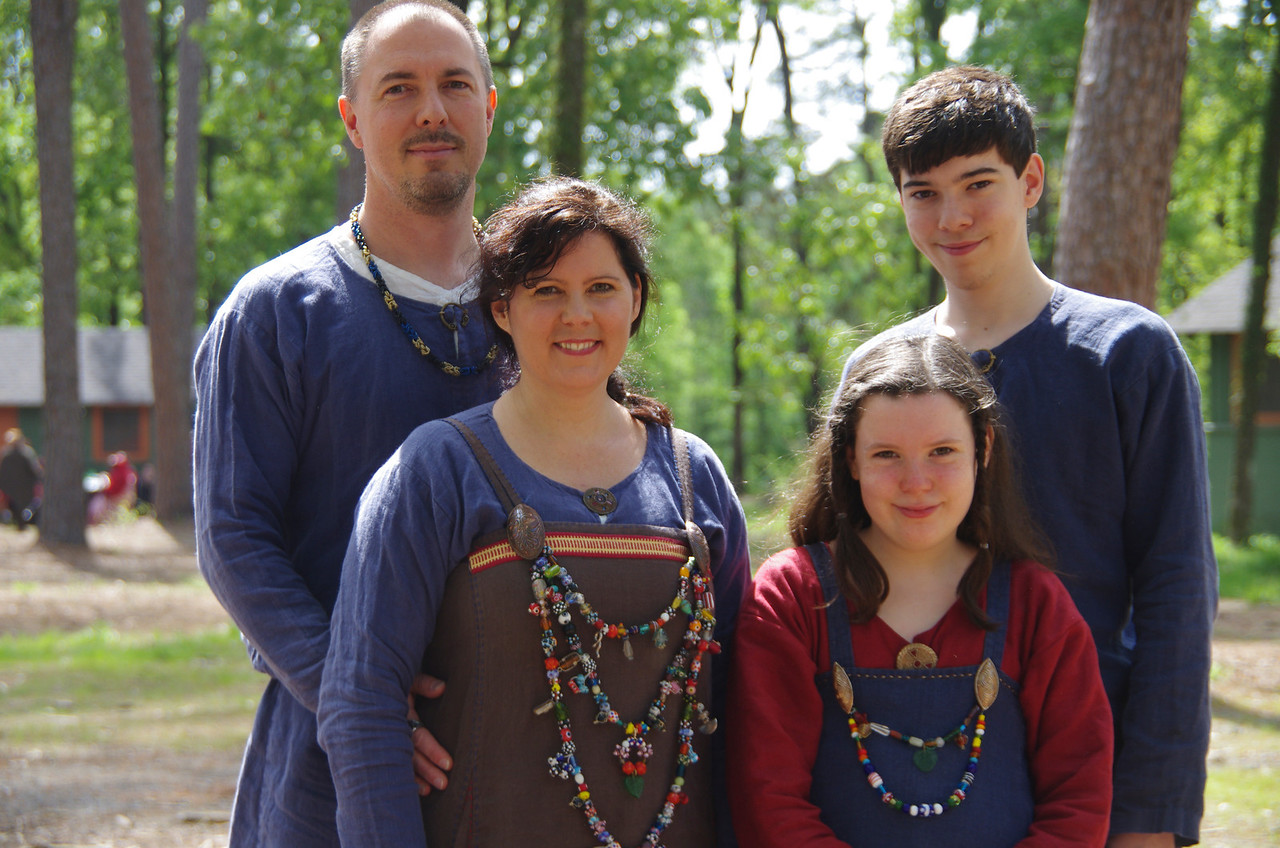 Edric's family shot