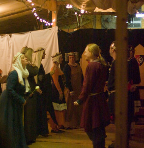 Royal peers dancing