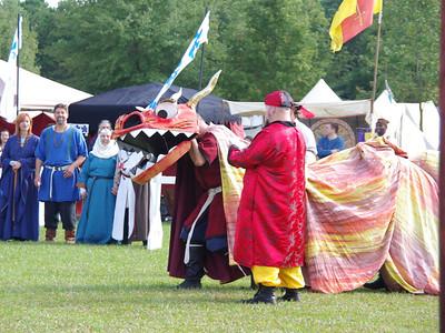Sir Geoffrey MacDhomhuill's Dragon