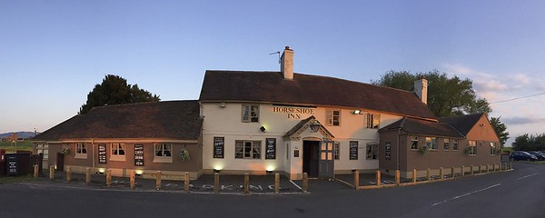 The Horseshoe Inn....good food.