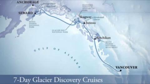 Holland America 7-Day Glacier Cruise 08/17/10