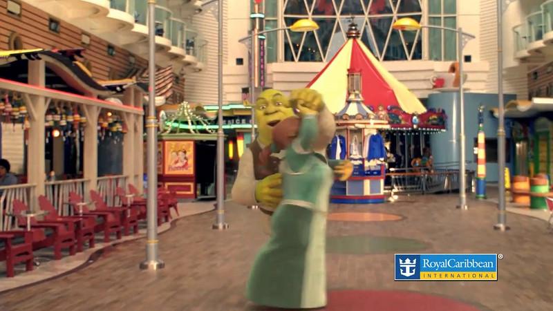 Royal Caribbean Cruise Vacation DreamWorks Experience 11/10/10
