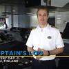 Allure of the Seas - Captain's Log on Delivery Day in Turku, Finland (10/28/10)