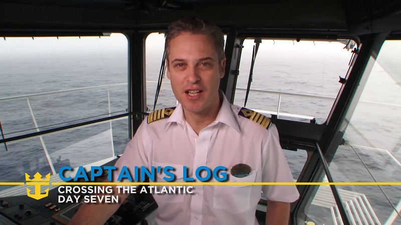 Allure of the Seas - Captain's Log Day 7 (11/05/10)