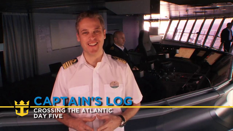 Allure of the Seas - Captain's Log Day 5 (11/03/10)