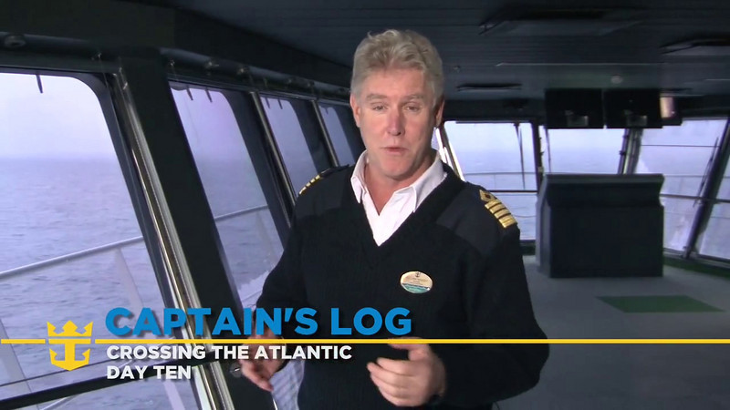 Oasis of the Seas, Back to the Bridge: A Perspective from Former Captains, Day 10 (11/08/09)