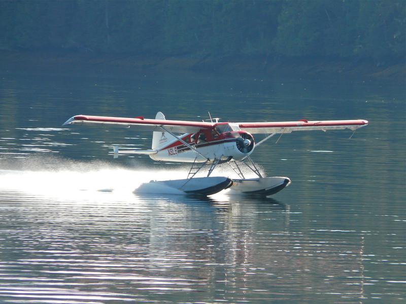 Float plane in Yes Bay, Alaska