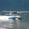 Float plane in Yes Bay, Alaska