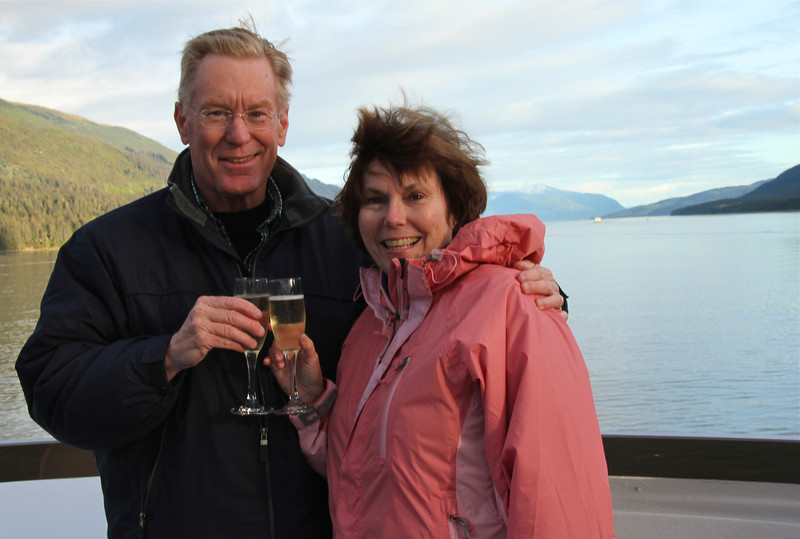 Alan and Donna Hull on Safari Quest in Alaska