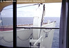 This is the view out the porthole...er window... of the Provance Suite.