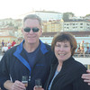 Alan and Donna Hull on Seabourn Sojourn