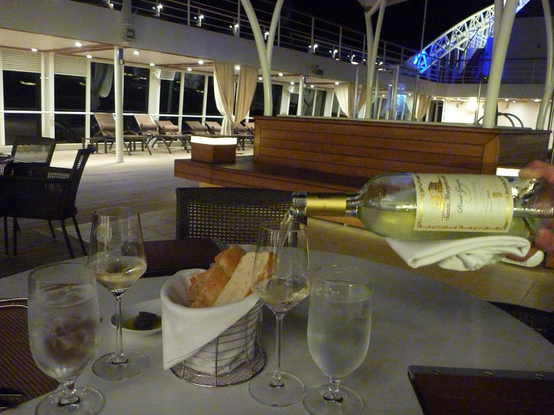 Patio Grille on Seabourn Sojourn