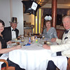 New Year's Eve dinner on Silver Cloud
