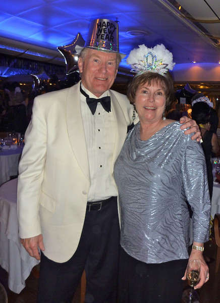 New Year's Eve fun at sea. Read about our Silver Cloud travel experience on a holiday cruise.