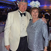 Alan and Donna Hull celebrate New Year's Eve on Silver Cloud.