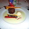 Happy New Year dessert on Silver Cloud.