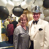 Entering The Restaurant on Silver Cloud for New Year's Eve dinner dance