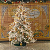 Christmas tree in reception area of Silver Cloud