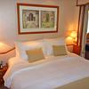Bedroom of Silver Cloud suite