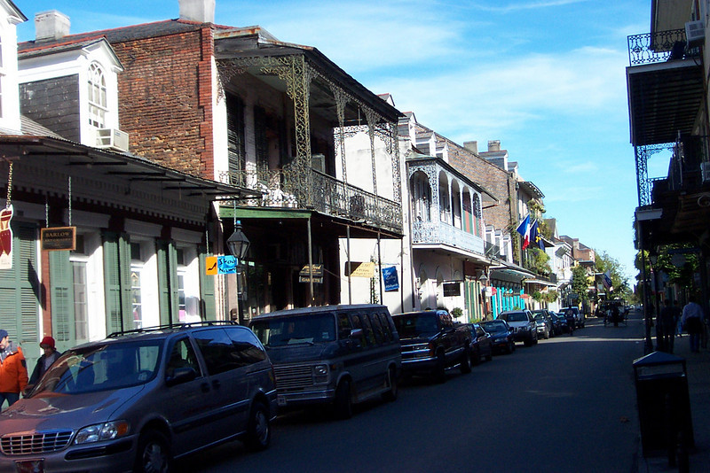 We were near the ticket booth for Grayline Tours, so we decided to take their two-hour bus tour of the city.  It wasn't departing for a while, so we had some time to wander around the French Quarter on our own.<br /> [New Orleans]