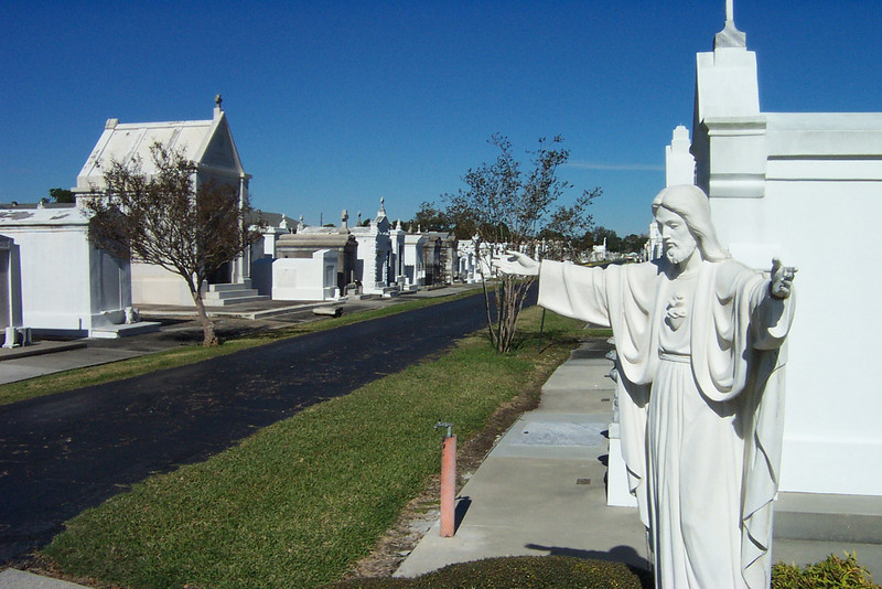 The cemetery was an interesting place to wander around!<br /> [New Orleans]
