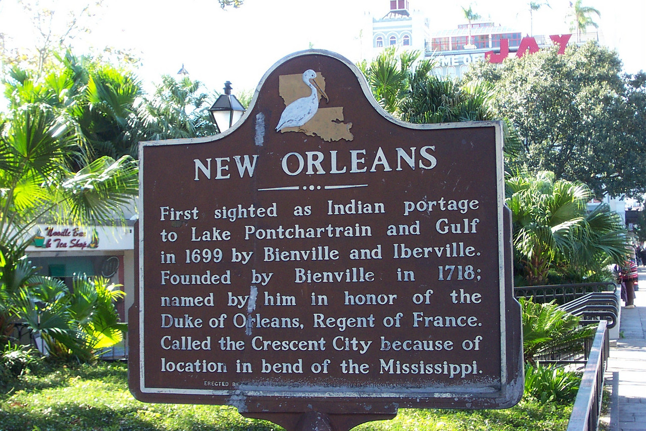 Our trip began in New Orleans.  Dad and I flew in from Texas the evening before the cruise departed.