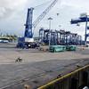 The dock at Bintulu, Sarawak
