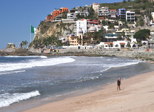 Hotels on Mazatlan Hillside