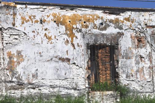 Wall in Mazatlan