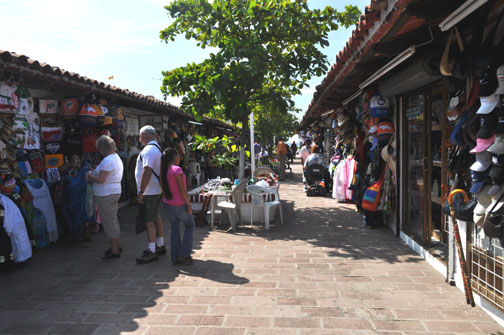 Vendors in Puerto Vallarta