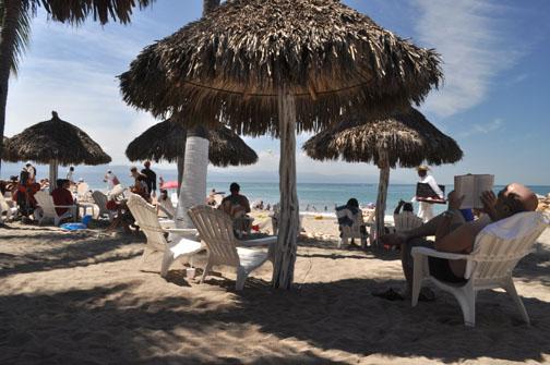On a Beach in Puerto Vallarta