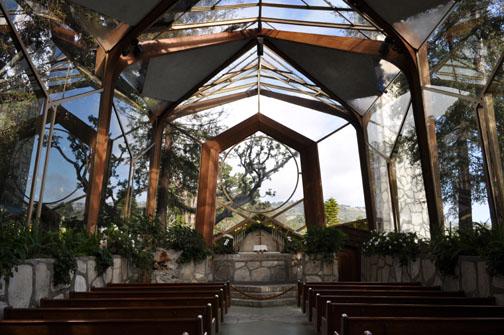 Chapel of the wayfarer, Rancho Palos Verdes, California