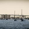 Fort Myers Beach Bridge in Matanzas Harbor