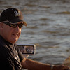 Steve on the bow